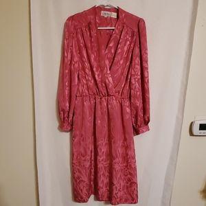 Vintage | Pink Shiny Dress
